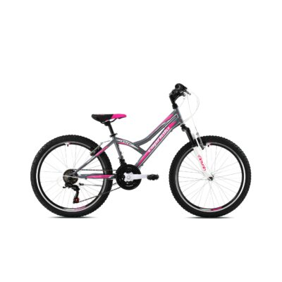 Bicikl Capriolo Diavolo 400 sivo rozi sa prednjim amortizerom