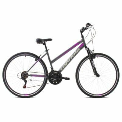 Bicikl Capriolo Sunrise 28 sivo pink