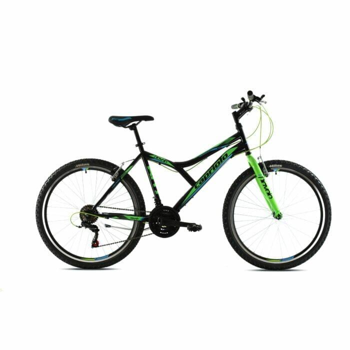 Bicikl Capriolo Diavolo 600 crno zeleni