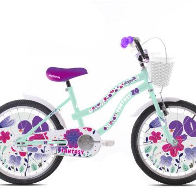 "Bicikl Capriolo Adria Fantasy 20"" tirkiz 920138-20"
