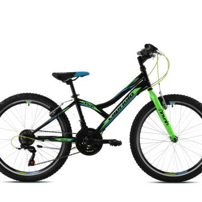 Bicikl Capriolo Diavolo 400 plavo zeleni
