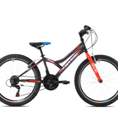 Bicikl Capriolo Diavolo 400 sivo crveni