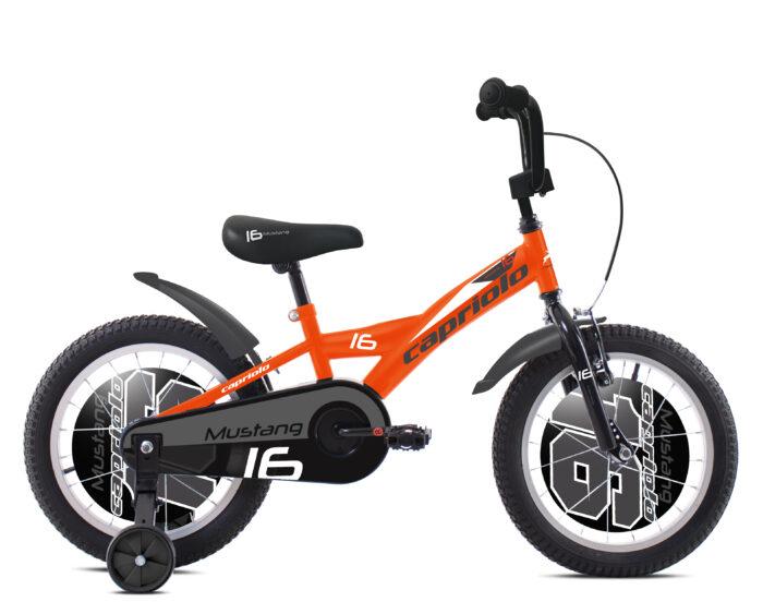 Bicikl Capriolo Mustang 16 narandžasti