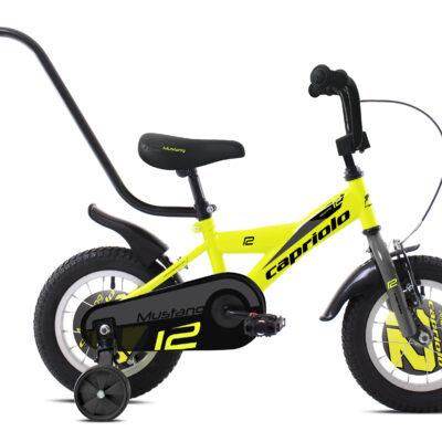 "Bicikl Capriolo Mustang 12"" zuti 920106-12"