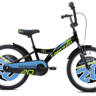 Bicikl Capriolo Mustang 20 crno plavi
