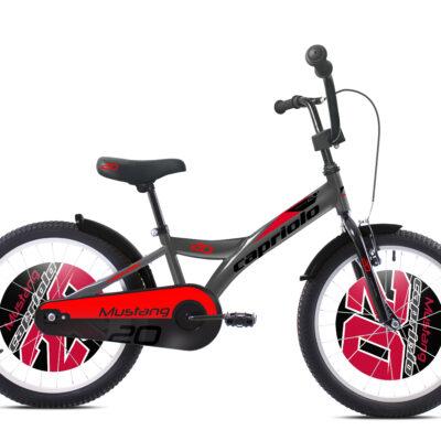 Bicikl Capriolo Mustang 20 sivo crveni 920131-20