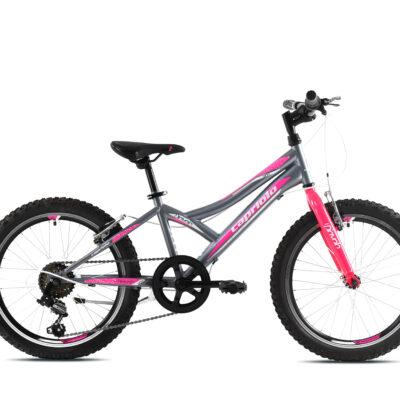 Bicikl Capriolo Diavolo 200 sivo pink 920292-11