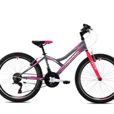 Bicikl Capriolo Diavolo 400 sivo rozi 920303-13
