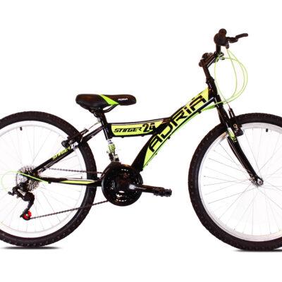 """Bicikl Adria Stinger 24"""" crno zeleni 916180-15"""