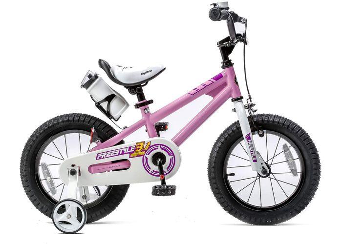 """Bicikl Royal Baby Freestyle 14"""" pink"""