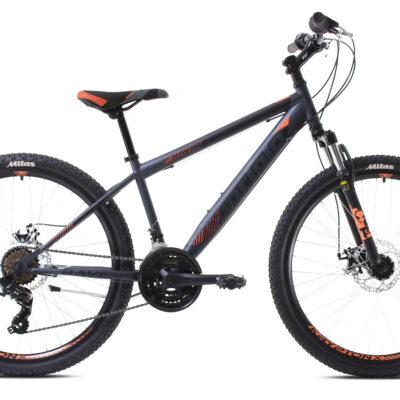 Bicikl Capriolo Raven 24 crno narandžasti