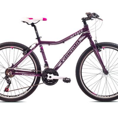 """Bicikl Capriolo Attack 26"""" pink"""