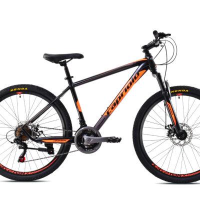 "Bicikl Capriolo Oxygen 26"" crno naranžasti"