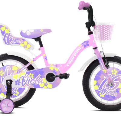 "Bicikl Capriolo Viola roze bela 16"" 921112-16"