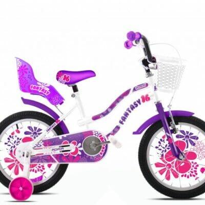 Bicikl Capriolo Adria Fantasy 16 belo ljubicasti