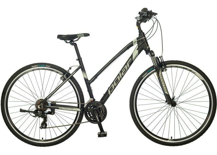 "Bicikl Polar Forester Comp ženski 28"" silver"
